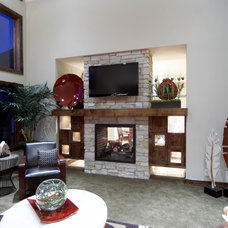 Traditional Living Room by Elizabeth Monical Interior Design
