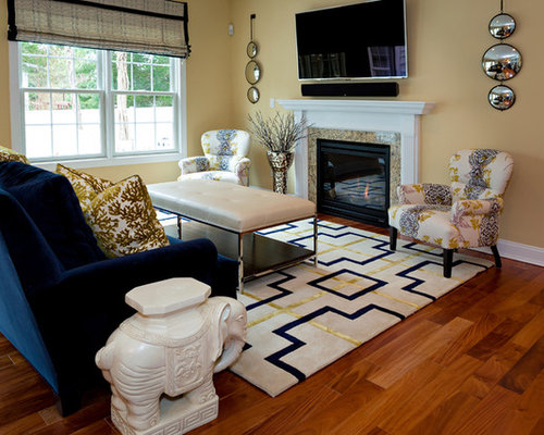 Navy Blue Gold Home Design Ideas Pictures Remodel And Decor