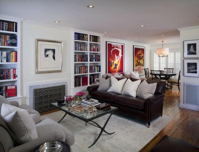 Contemporary Living Room by Suzie Parkinson SÜZA DESIGN