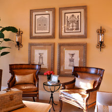 Traditional Living Room by Cindy Aplanalp-Yates & Chairma Design Group