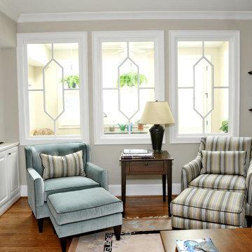 Transom used as Interior windows