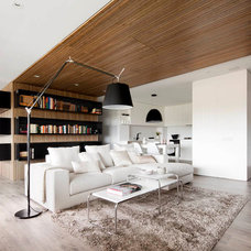 Modern Living Room by Opad