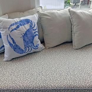 Inspiration for a coastal living room remodel in San Francisco
