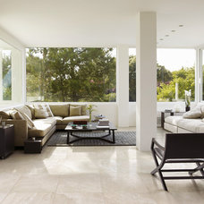 contemporary living room by Heritage Tiles NZ