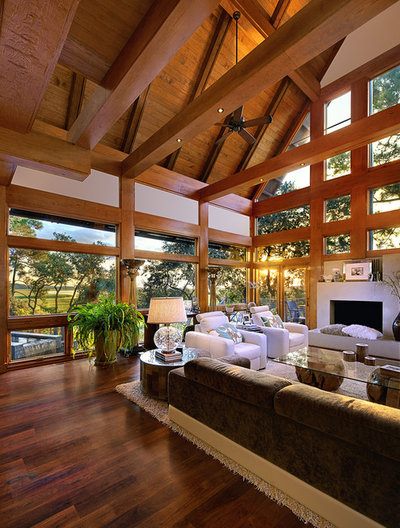 Contemporary Living Room by The Anderson Studio of Architecture & Design