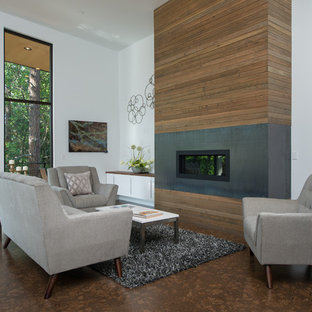 Hanging Cabinet Modern Living Room Houzz