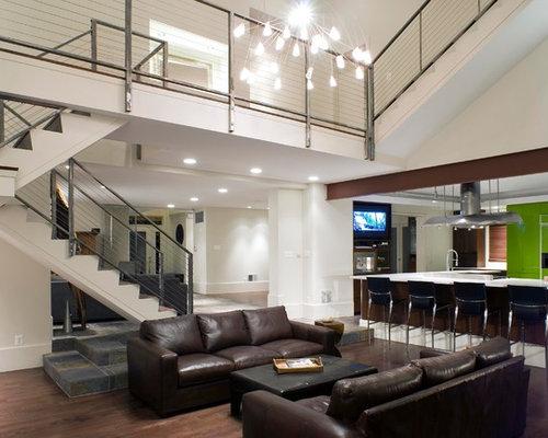 2 347 2nd Floor Balcony Family Room Design Photos