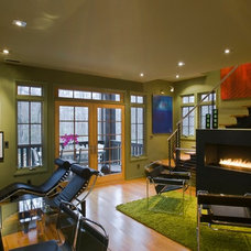 Contemporary Living Room by Thomas Lawton Architect
