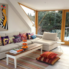 Contemporary Living Room Cosy family sofa