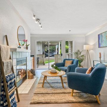 Trendy Scandinavian Style Living Room for 2020
