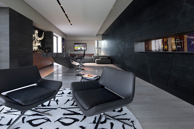 Contemporary Living Room by Assemblage Studio
