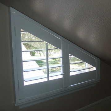 Triangle Window Covering