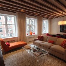 Contemporary Living Room by Eddie Lee Inc