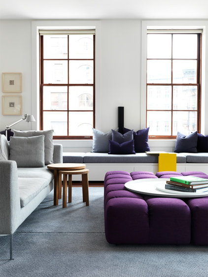 Contemporary Living Room by Nexus Designs