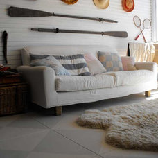 Eclectic Living Room by Rough Linen
