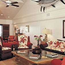 Tropical Living Room Trigg-Smith Architects - Project - An Island Estate