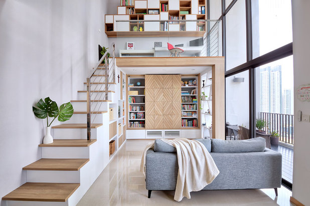 Contemporary Living Room by Free Space Intent