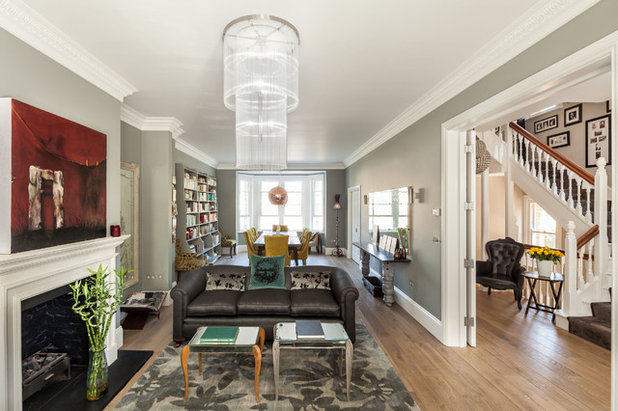Traditional Living Room by Riach Architects