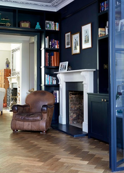 Transitional Living Room by Blakes London