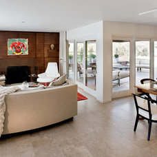 Contemporary Living Room by Master Remodelers Inc.