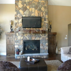Traditional Living Room by Designer for Triton Homes, Owner Triton Interiors