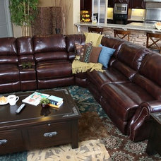 traditional sectional sofas by Jerome's Furniture