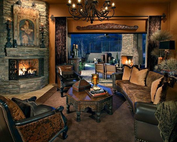 Mediterranean Living Room by Sanctuaries Interior Design