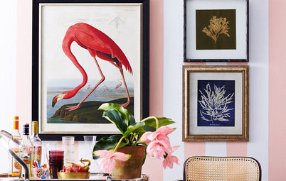 Having a Design Moment: Pink Flamingos