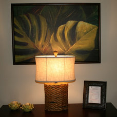 Tropical Living Room by Tropicality Decor