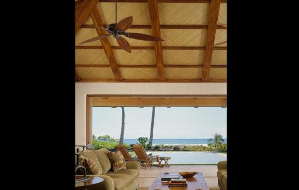 Tropical Living Room Tropical Living Room