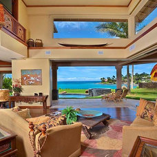 Tropical Living Room Tropical Living Room