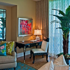 Tropical Living Room by The Tamarind Group