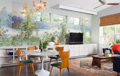 Create an Indoor View With Scenic Wallcoverings