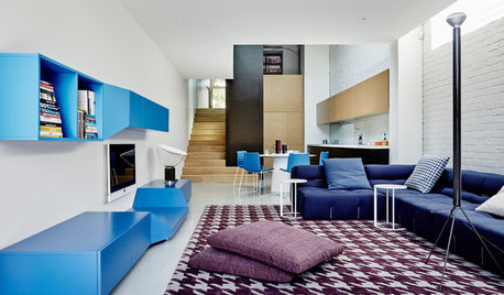 Room of the Week: An Open-Plan Space That's a Vision in Blue