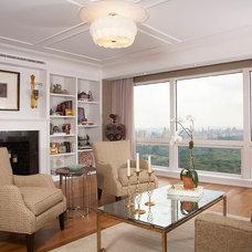 Traditional Living Room by Split Rock Associates Inc.