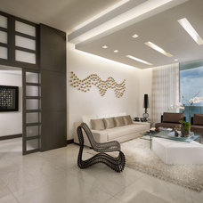 Contemporary Living Room by Guimar Urbina | KIS Interior Design