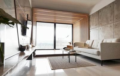 Houzz Tour: This Apartment's Versatile Pavilion is a Multi-purpose Room