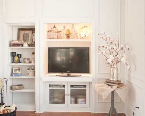 Pull-Out Television Home Design Ideas, Pictures, Remodel and Decor
