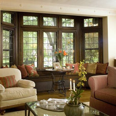 Traditional Living Room by The Design Within