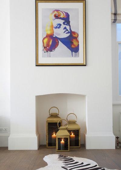 Современная классика Гостиная by Anita Bourne t/a DefinitiveInteriorDesign.com