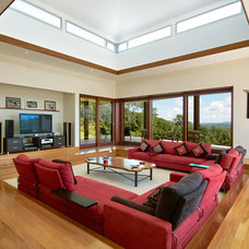 Eclectic Living Room by SBT Designs