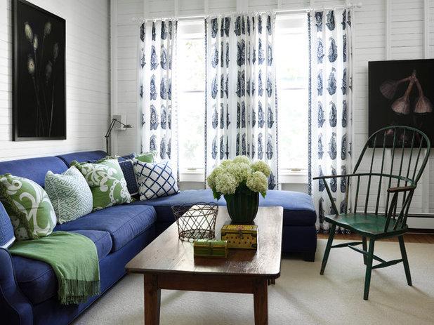 Beach Style Living Room by Tom Stringer Design Partners