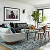 Houzz Tour: Graphic, Monochromatic and Fantastic