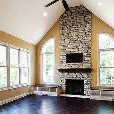 Traditional Living Room by Schoen Builders