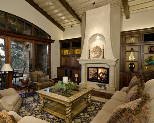 Tuscan Fireplace Houzz