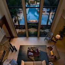 Contemporary Living Room by Jones Clayton Construction