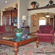 Mediterranean Living Room by Terrance Mason Interiors