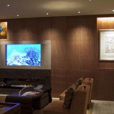Contemporary Living Room by Madrona Digital