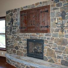 Traditional Living Room by Modern Design LLC