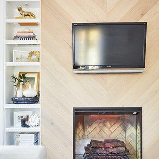 TV Fireplace Wall Unit